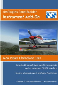 Panel Builder Instrument Add-On A2A PA28 Web