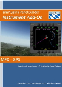 Panel Builder Instrument Add-On MFD GPS Web